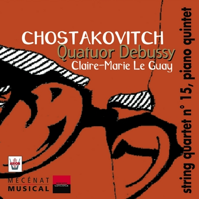 CHOSTAKOVITCH, Quartet n ° 15 - Quintet with piano