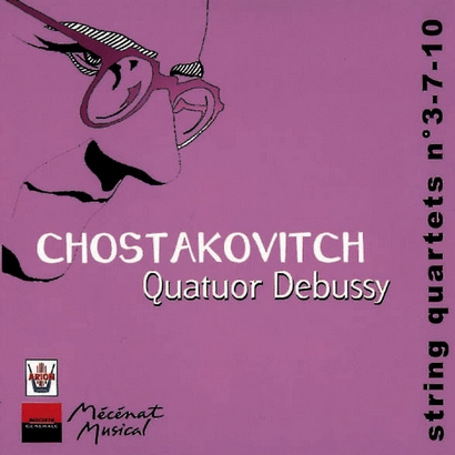 CHOSTAKOVITCH, Quartet n°3-7-10