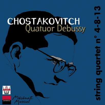 CHOSTAKOVITCH, Quartet n° 4-8-13